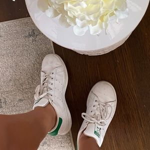 Stan smith adidas green sneakers